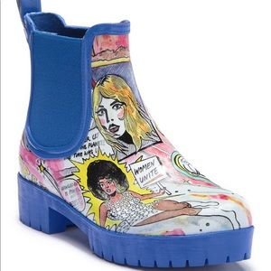 Jeffrey Campbell Cloudy V Chelsea Rainboot